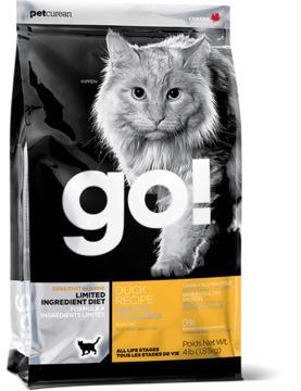Go! 高敏有限食物成分鸭肉配方猫粮